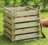 Wooden Composter: Small 373 Litres by Lacewing�